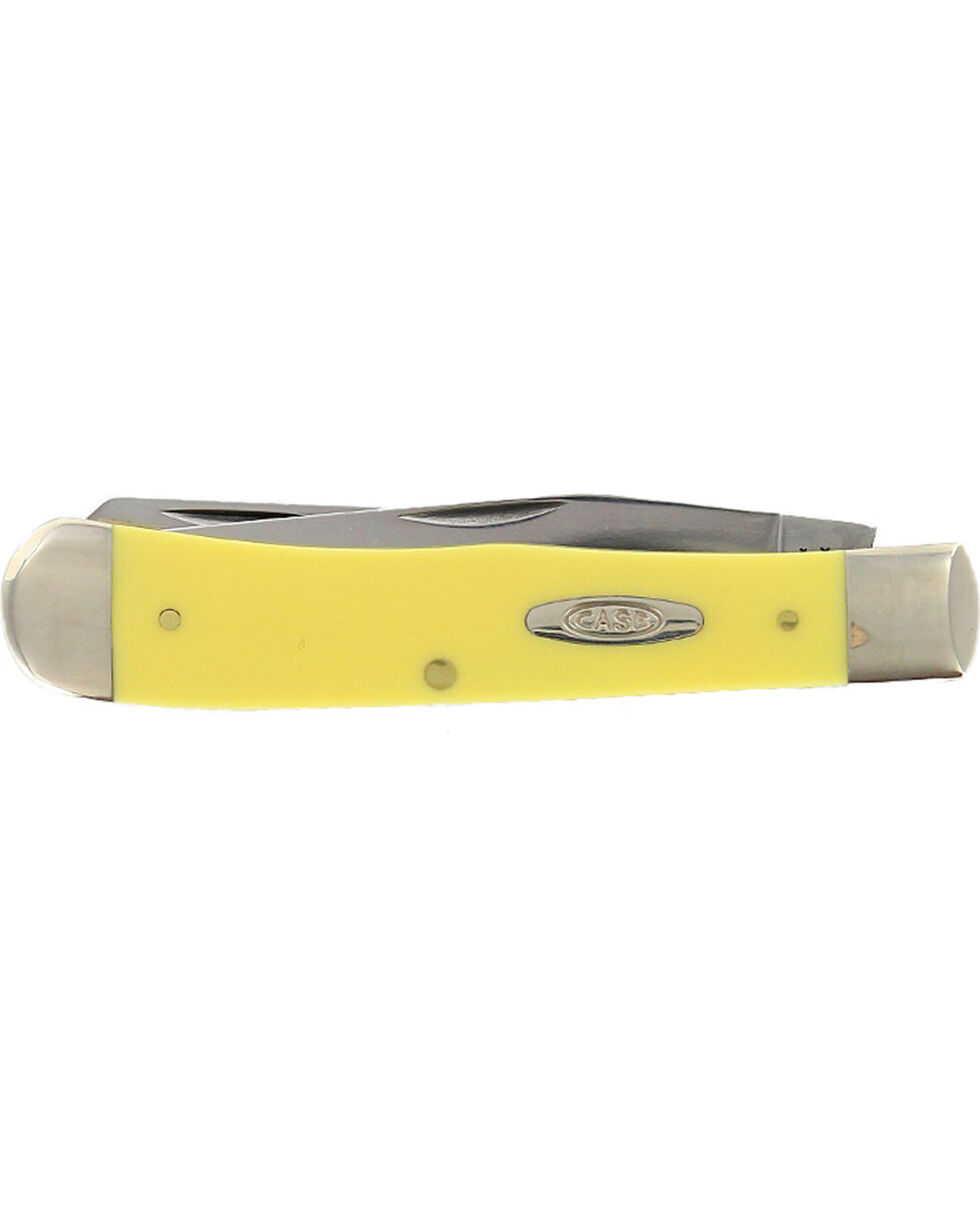 W.R. Case & Sons Trapper, Yellow, hi-res