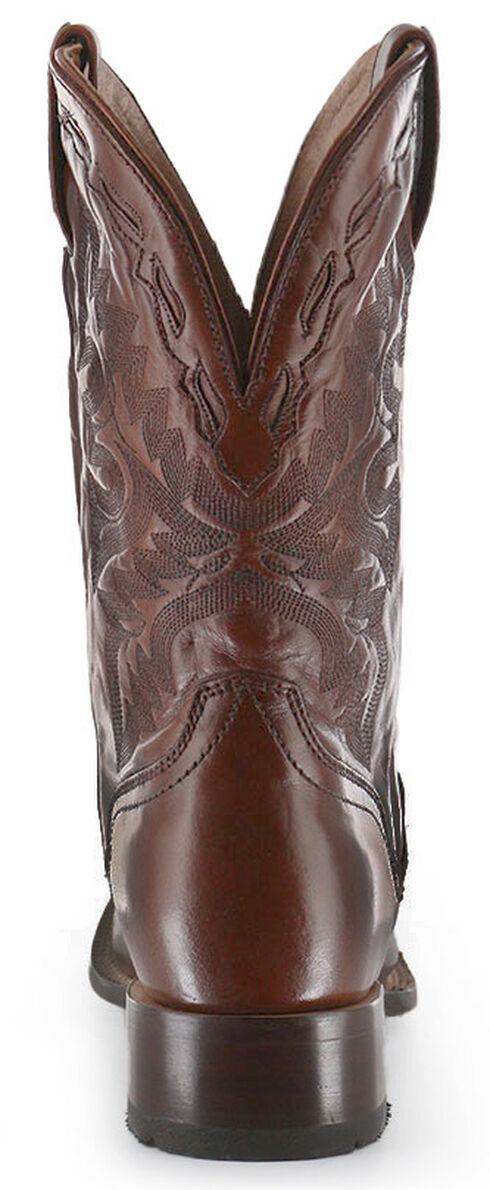 El Dorado Tan Vanquished Calf Cowboy Boots - Square Toe, Tan, hi-res