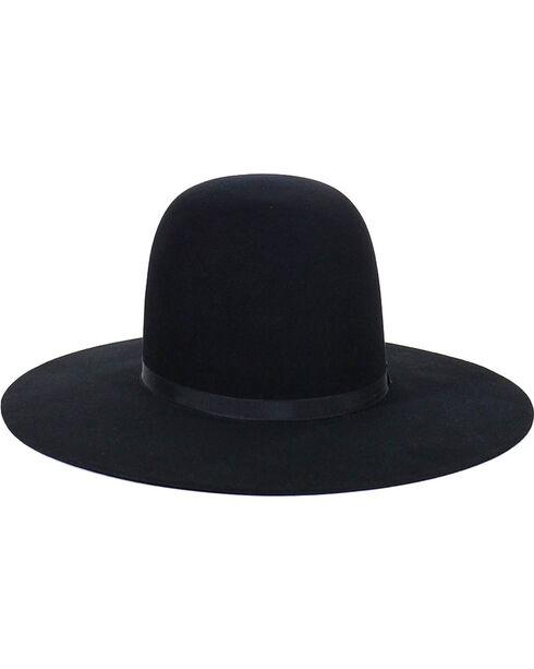 Resistol Men's 10X Tradition Premium Fur Felt Hat, Black, hi-res