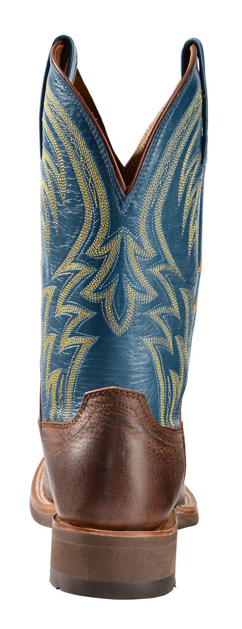 Lucchese Alan Smooth Cowhide Cowboy Boots - Square Toe , , hi-res