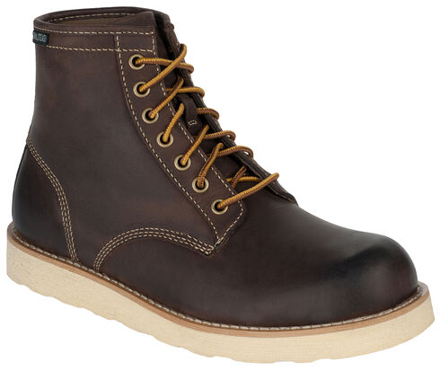 Eastland Men's Dark Brown Barron Boots, , hi-res