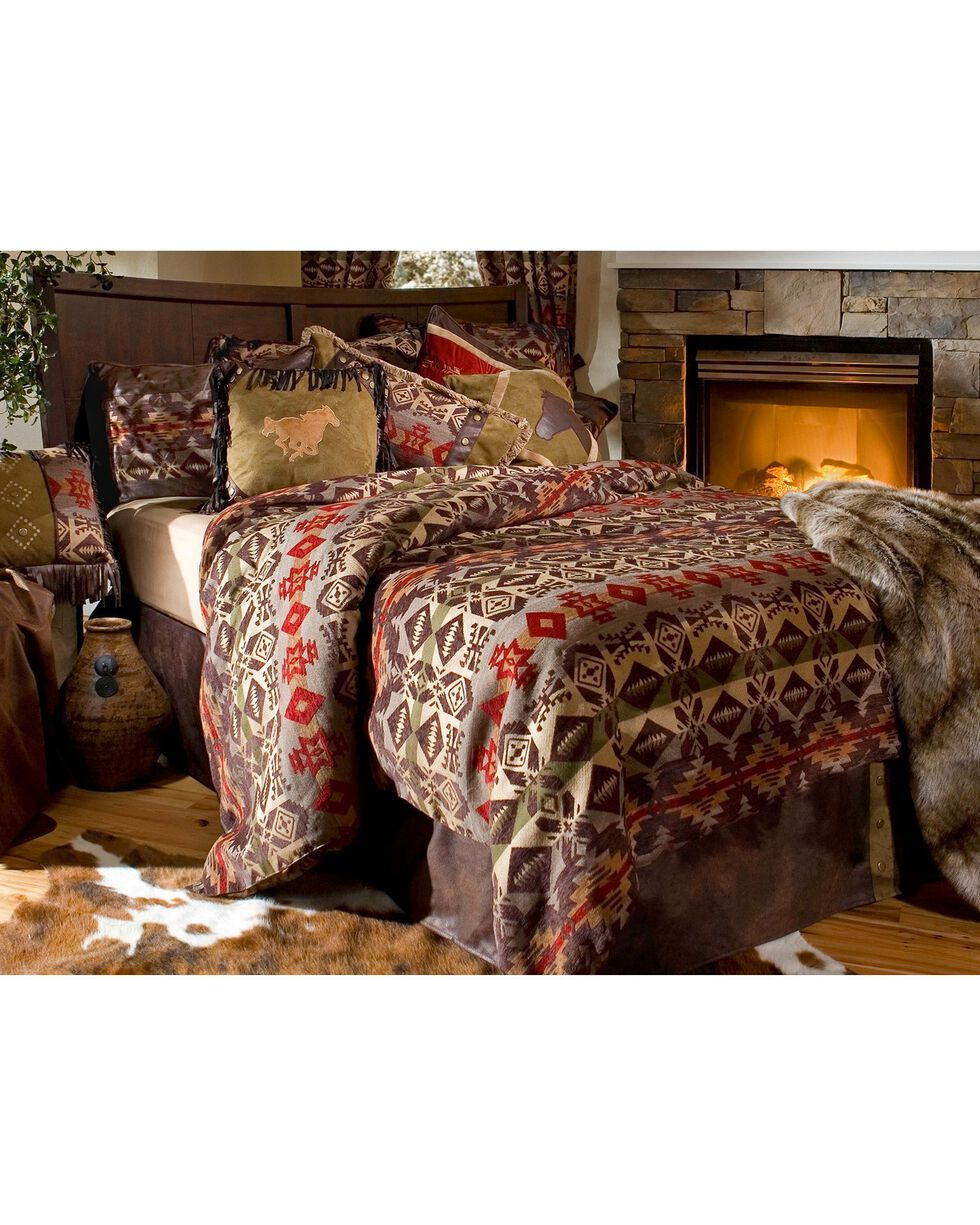 Carstens Montana Full/Queen Bedding - 7 Piece Set, Multi, hi-res