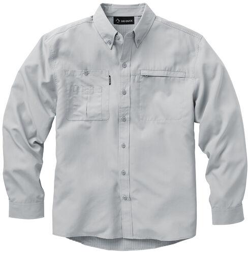 Dri Duck Men's Regulator Shirt, Grey, hi-res