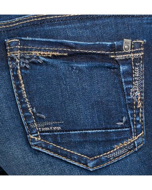 Silver Women's Indigo Avery Rinse Wash Jeans - Straight Leg , Indigo, hi-res