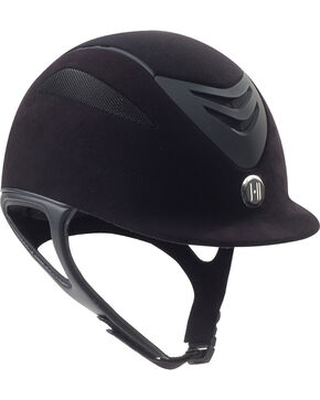 One K Defender AIR Suede Helmet, Black, hi-res