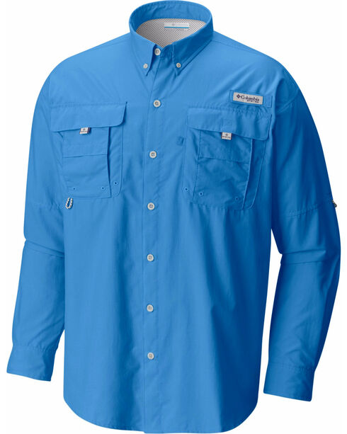 Columbia Men's Blue Bahama II Shirt , Blue, hi-res
