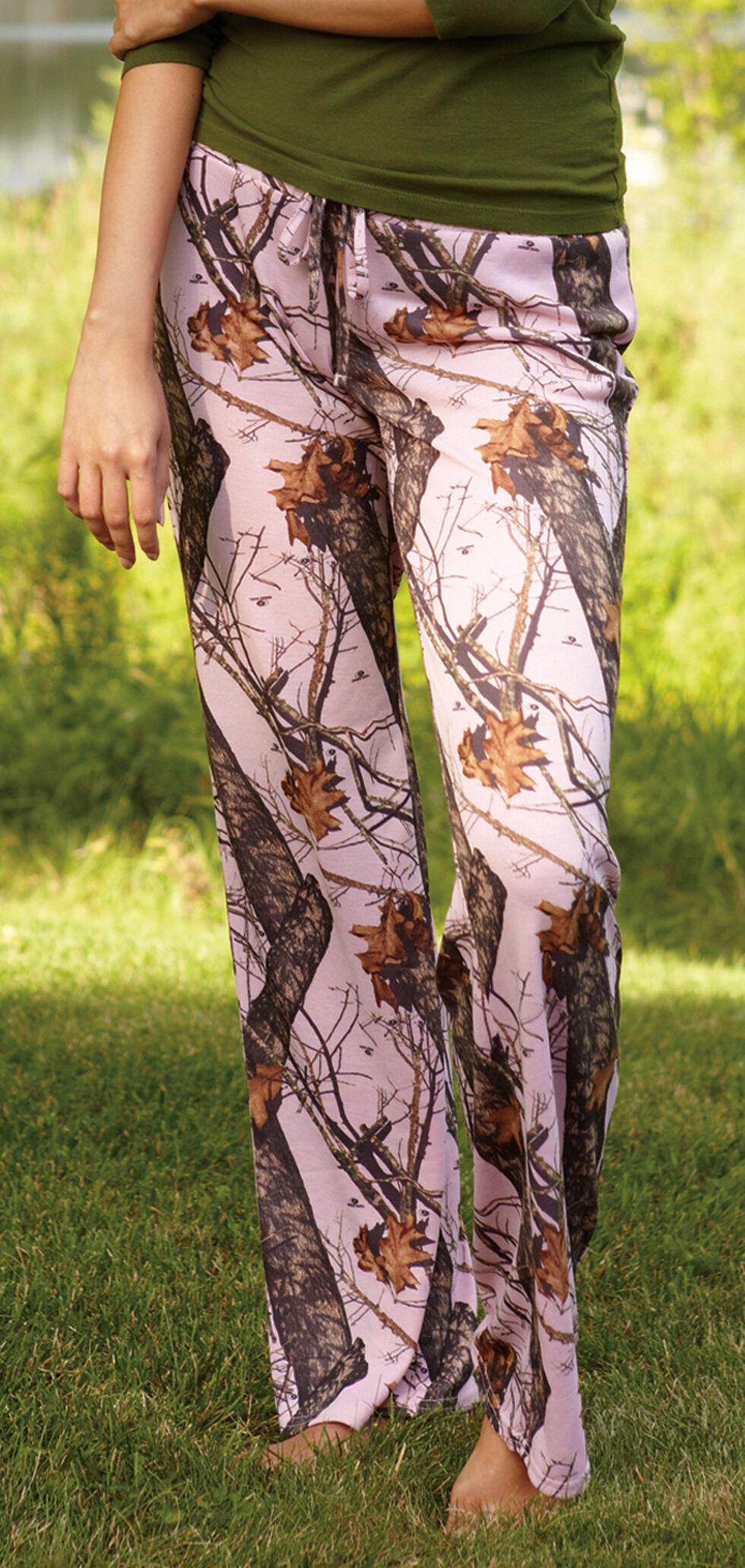 Wilderness Dreams Women's Pink Mossy Oak Break-Up Pants, Camouflage, hi-res