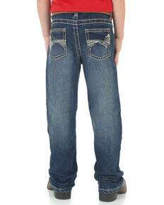 Wrangler 20X Boys' No. 42 Vintage Bootcut Jeans , Blue, hi-res