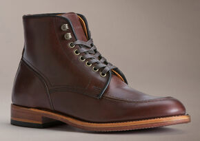 Frye Men's Walter Lace-up Boots - Round Toe, Dark Brown, hi-res
