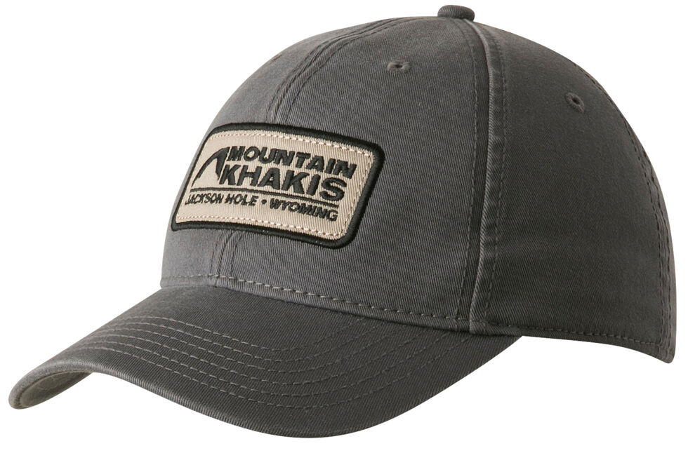 Mountain Khakis Men's Soul Patch Cap, Charcoal Grey, hi-res