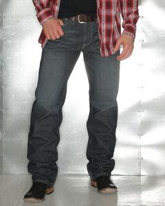 Garth Brooks Sevens by Cinch Men's Loose Fit Bootcut Jeans, Indigo, hi-res
