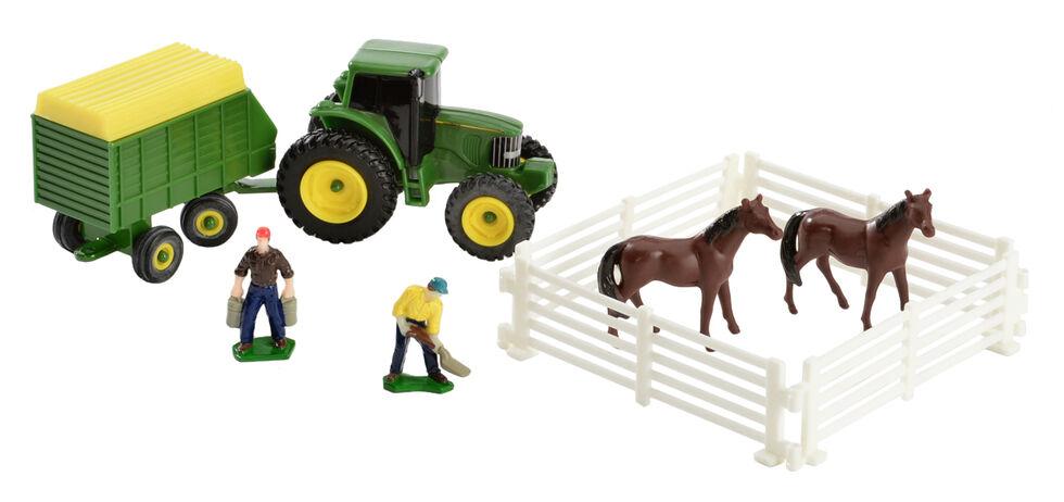 John Deere 10 Piece Farm Toy Set, Green, hi-res