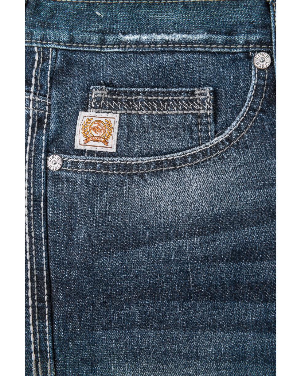 CInch Men's Sawyer Loose Fit September Jeans - Boot Cut , Indigo, hi-res