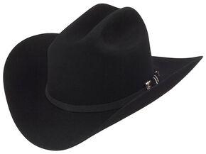 Larry Mahan 10X Jerarca Fur Felt Cowboy Hat, Black, hi-res