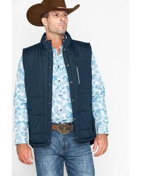 Cody Core Men's Tellurude Quilted Vest , Navy, hi-res
