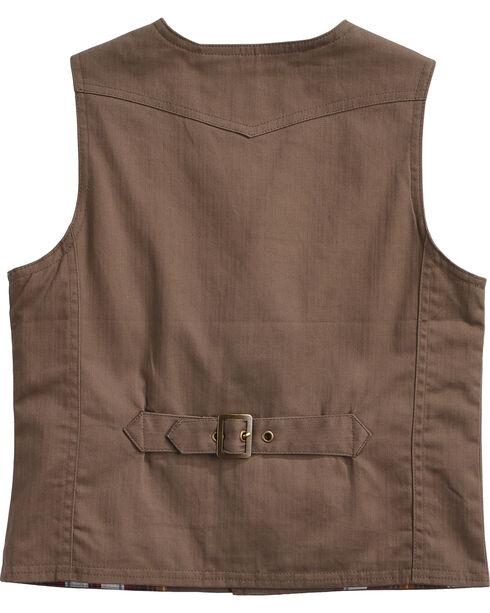 Cody James Boys' Deer Shot Vest, Tan, hi-res