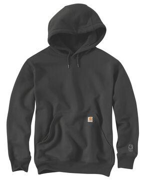 Carhartt Rain Defender Paxton Heavyweight Hooded Sweatshirt - Big & Tall, Bark, hi-res