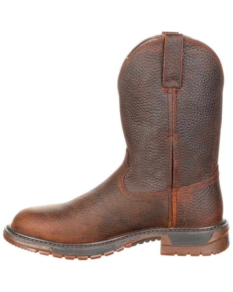 4f7d909f9d0 Rocky Men's Original Ride FLX Western Work Boots - Round Toe