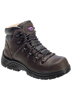 Avenger Women's Framer Insulated Work Boots - Composite Toe, Brown, hi-res