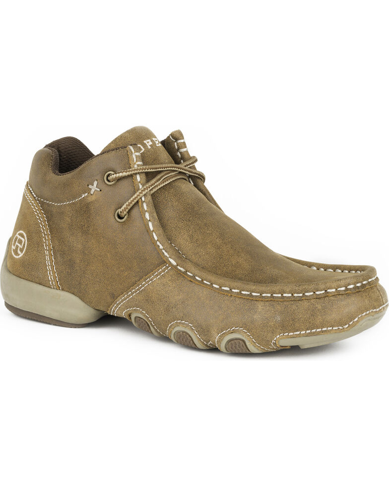 11871d763f09 Roper Women s Tan High Country Cassie Chukka Shoes