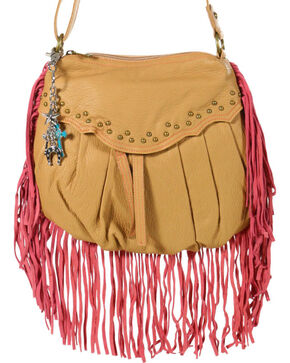 Way West Women's Hannah Fringe Crossbody Bag, Multi, hi-res