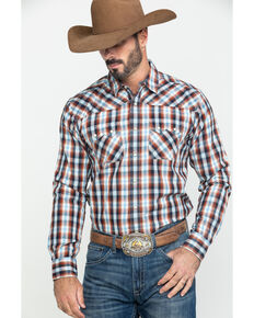 Ariat Men's Jefferson Retro Multi Plaid Long Sleeve Western Shirt , Multi, hi-res