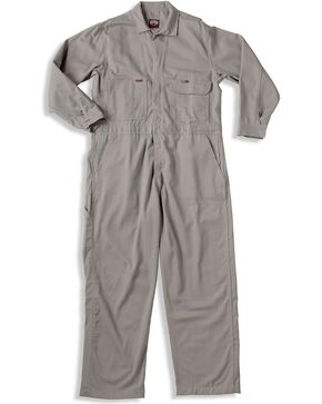 Key Industries Flame Resistant Coveralls, Grey, hi-res