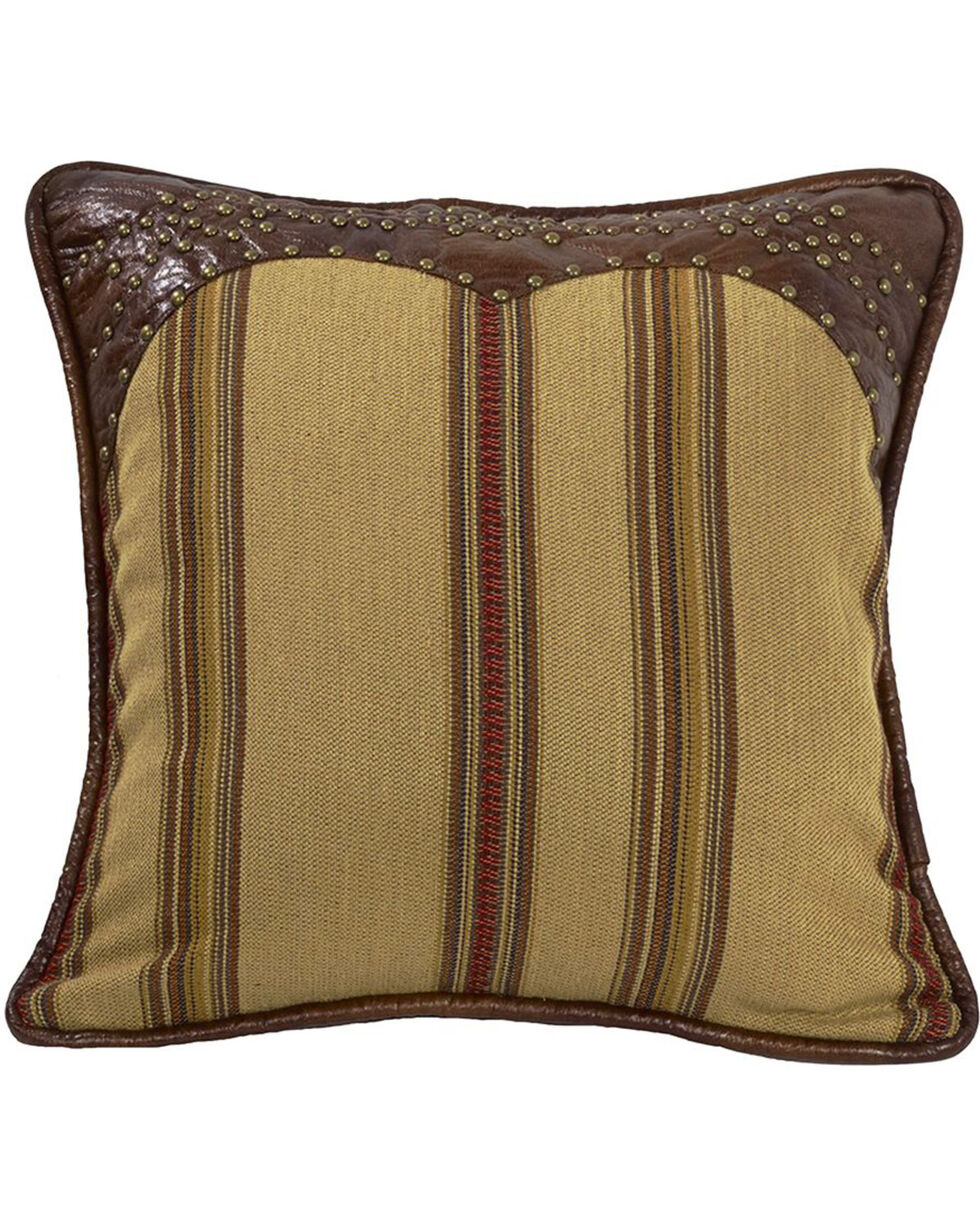 HiEnd Accents Ruidoso Striped Studded Throw Pillow, Multi, hi-res