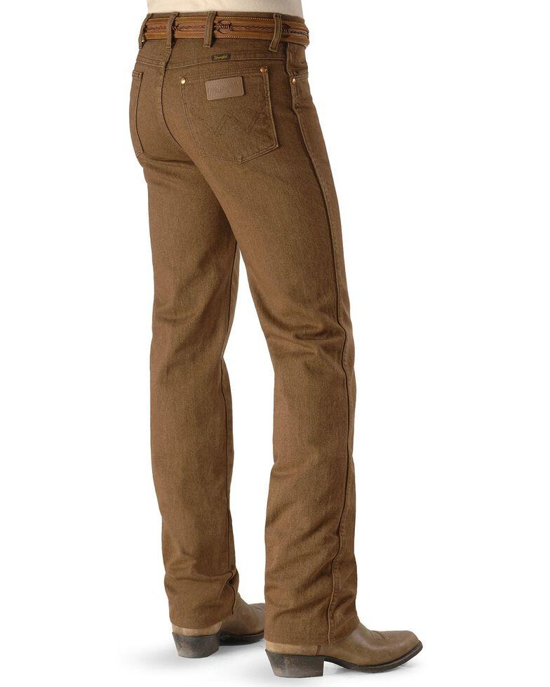Wrangler Men's 936 Cowboy Cut Slim Fit Jeans - Prewashed Colors, Whiskey, hi-res