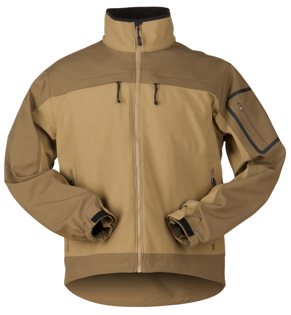 5.11 Tactical Chameleon Softshell Jacket, Brown, hi-res