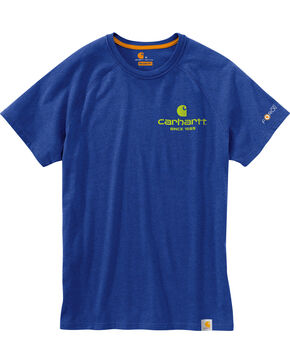 Carhartt Men's Blue Force Delmont 89 Graphic T-Shirt , Blue, hi-res