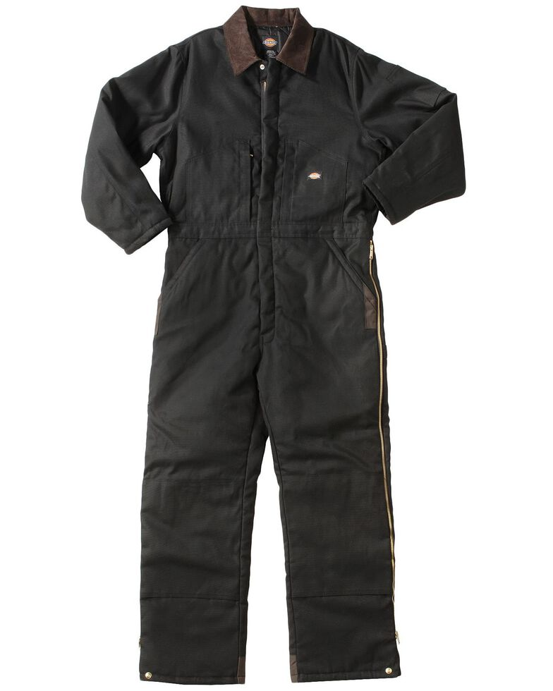 Dickies ® Insulated Coveralls - Big & Tall, Black, hi-res