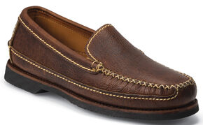 Chippewa Men's Rugged Casual Bison Loafers, Brown, hi-res
