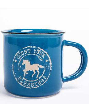BB Ranch Country Camper Mug, Blue, hi-res