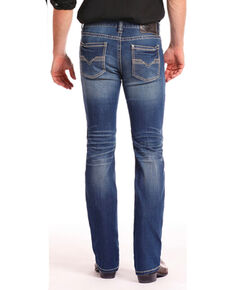 Rock & Roll Cowboy Men's Coolmax Revolver Jeans - Straight Leg, Indigo, hi-res