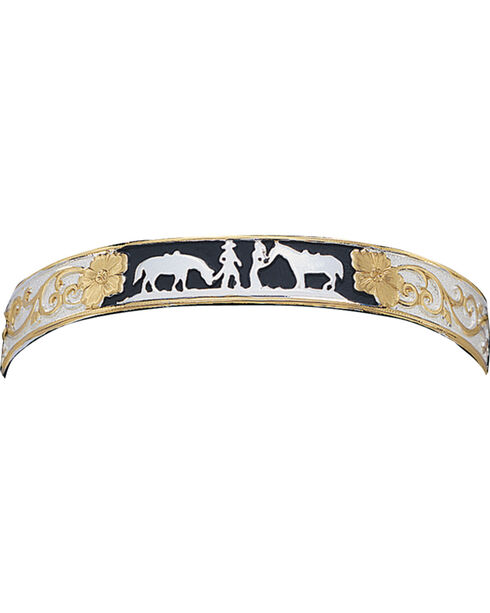 Montana Silversmiths Between Friends Cuff Bracelet, Multi, hi-res