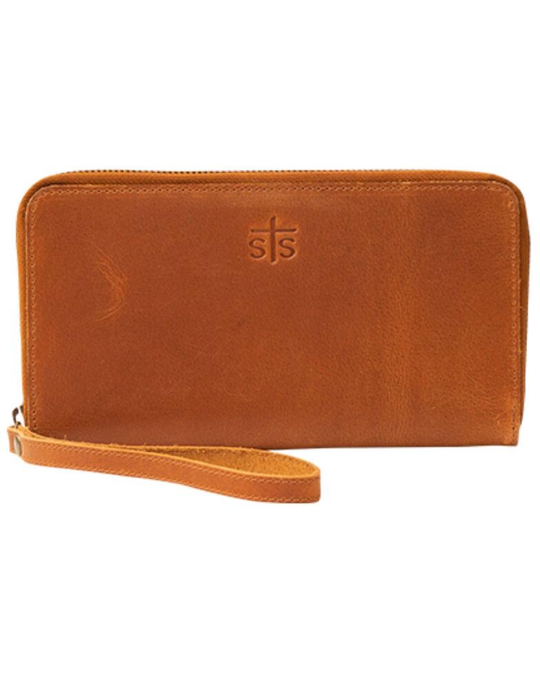 STS Ranchwear Women's Basic Bentley Wallet, Brown, hi-res