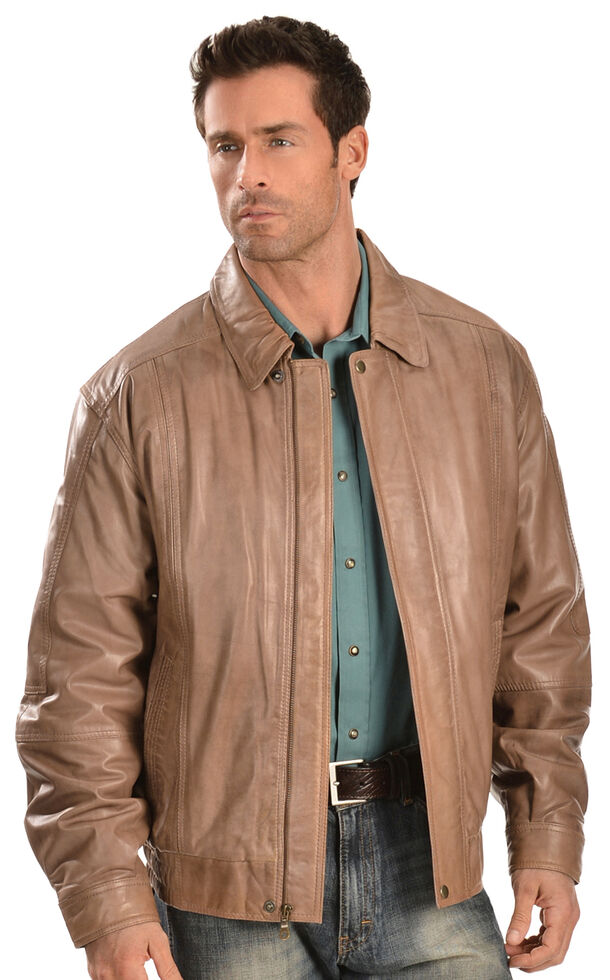 Scully Premium Lambskin Jacket, Cognac, hi-res