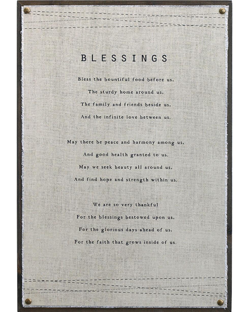 Demdaco Blessings Wall Art , Beige/khaki, hi-res