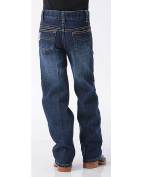 Cinch Boys' White Label Demin Straight Leg Jeans - 8-18, Denim, hi-res