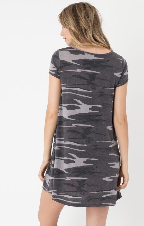 Z Supply Women's Black Connor Camo Dress , Black, hi-res