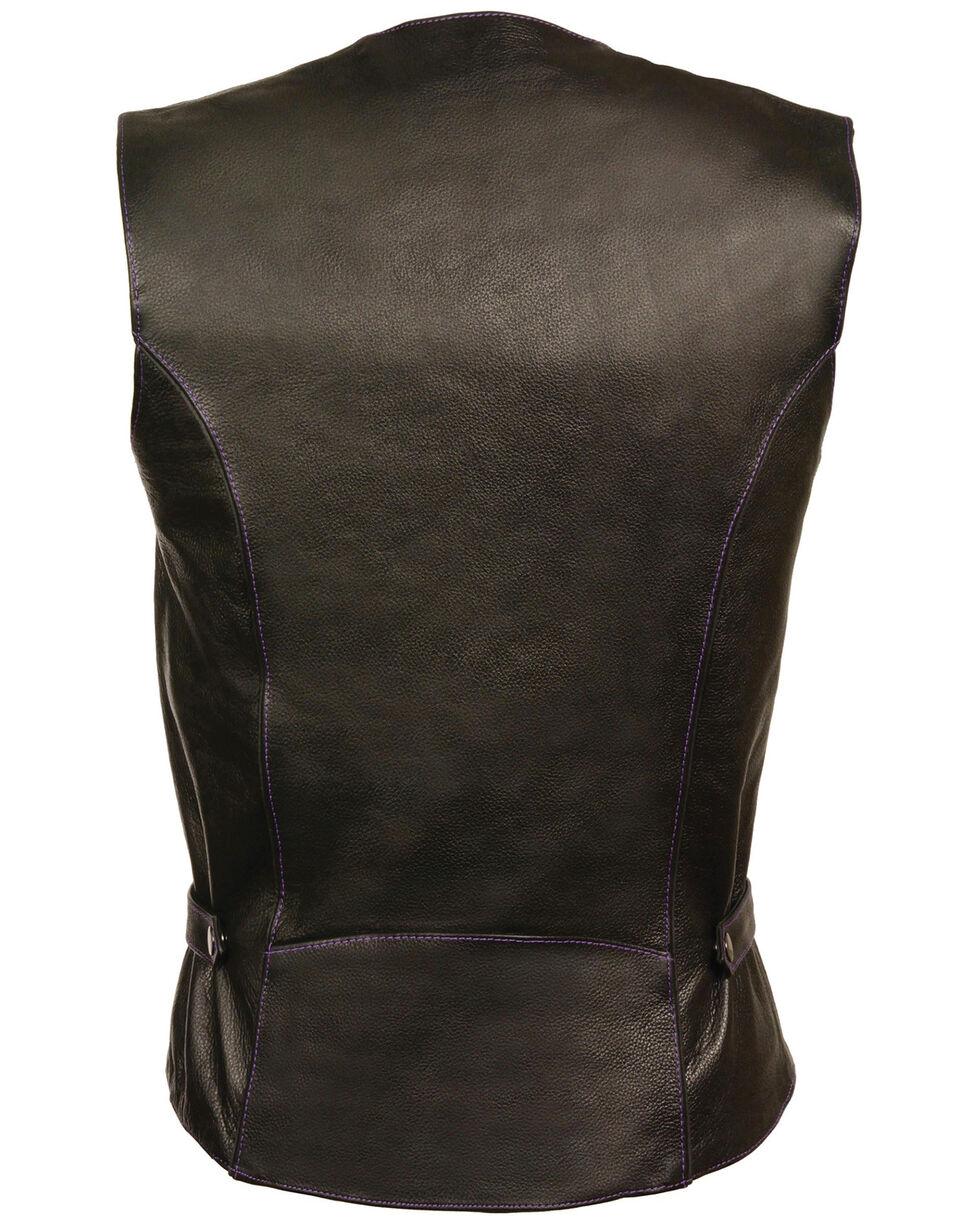 Milwaukee Leather Women's Reflective Tribal Design Vest - 4X, , hi-res