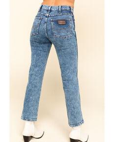 Wrangler Modern Women's Acid Straight Jeans  , Blue, hi-res