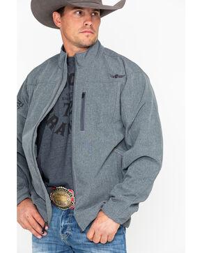 Ariat Men's Willpower Softshell Stretch Fleece Jacket , Charcoal, hi-res