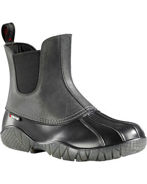 Baffin Men's Great Lake Series Huron Boots - Round Toe, Black, hi-res