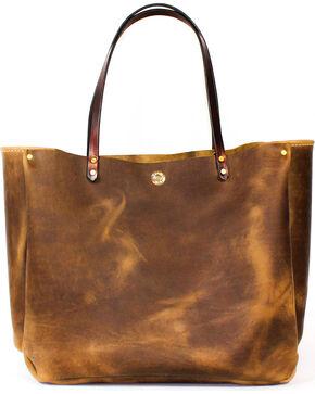 SouthLife Supply Women's Shiloh Aged Bourbon Medium Bucket Bag, Brown, hi-res