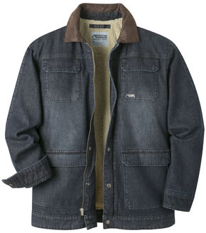Mountain Khakis Men's Navy Ranch Shearling Jacket, Navy, hi-res