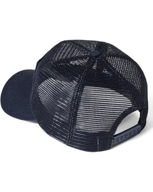 Filson Men's Navy Irondale Mesh Hat , Navy, hi-res