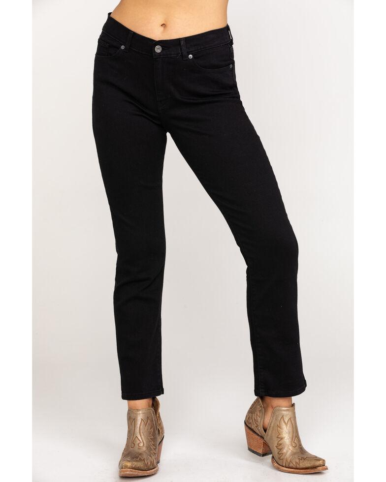 Levi's Women's Black Classic Jeans - Straight Leg , Black, hi-res