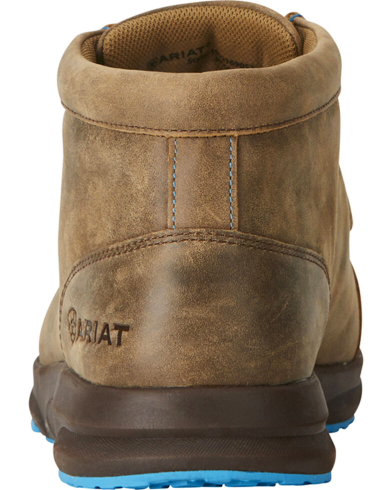 Ariat Men's Brown Spitfire Shoes, Dark Brown, hi-res